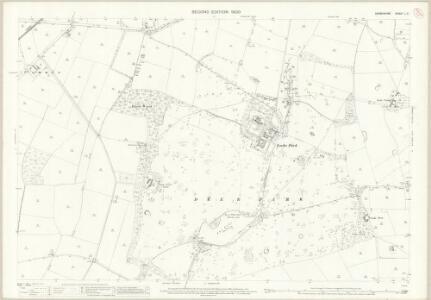 Derbyshire L.7 (includes: Chaddesden; Dale Abbey; Spondon; Stanley) - 25 Inch Map