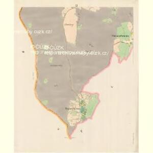 Eisendorf - c9392-2-009 - Kaiserpflichtexemplar der Landkarten des stabilen Katasters