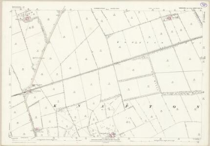 Yorkshire CVIII.10 (includes: Heslerton; Scampston) - 25 Inch Map