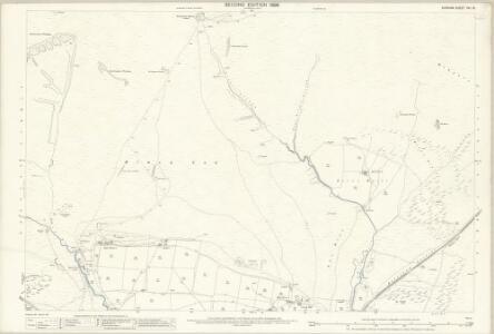 Durham XVI.15 (includes: Stanhope) - 25 Inch Map