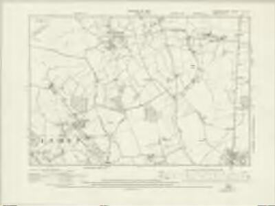 Hertfordshire VIII.NE - OS Six-Inch Map