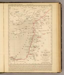 Syrie et de la Palestine, 624 ans apres J.C.