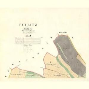 Pullitz - m2349-1-001 - Kaiserpflichtexemplar der Landkarten des stabilen Katasters