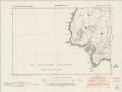 Anglesey XXI.NW - OS Six-Inch Map