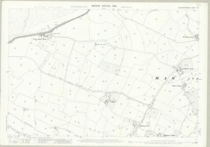 Gloucestershire LV.3 (includes: Ham and Stone; Hill) - 25 Inch Map