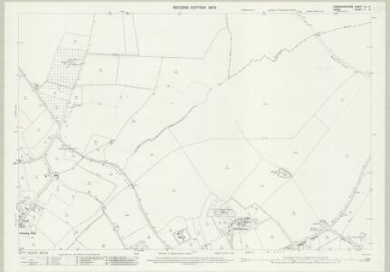 Cambridgeshire LIX.14 (includes: Chrishall; Elmdon; Ickleton) - 25 Inch Map