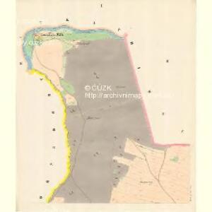 Dittersdorf (Wětřkovice) - m3384-1-001 - Kaiserpflichtexemplar der Landkarten des stabilen Katasters