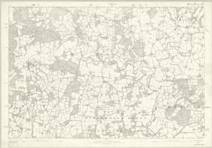 Sussex XII - OS Six-Inch Map