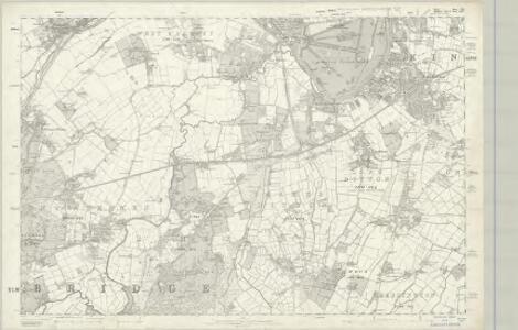 Surrey XII - OS Six-Inch Map