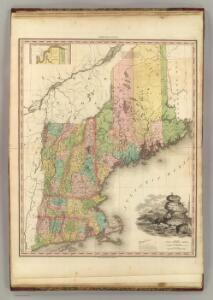 States of Maine, New Hampshire, Vermont, Massachusetts, Connecticut, & Rhode Island.