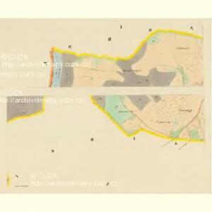 Lischnitz - c4143-1-001 - Kaiserpflichtexemplar der Landkarten des stabilen Katasters