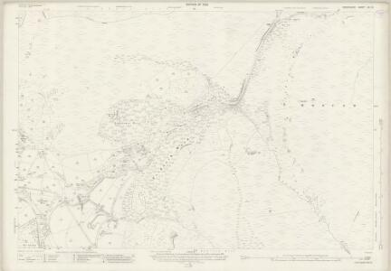 Derbyshire VII.15 (includes: Bamford; Derwent; Hope Woodlands; Outseats) - 25 Inch Map
