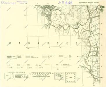III. vojenské mapování 4668/4