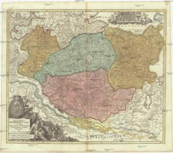 Tabvla generalis Holsatiae complectens Holsatiae Dithmarsiae Stormariae et Vargiae dvcatvs