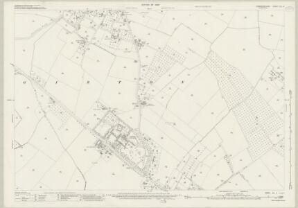 Cambridgeshire XL.9 (includes: Cambridge; Girton; Histon; Impington; Madingley) - 25 Inch Map
