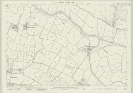 Somerset XVII.13 (includes: Bleadon; East Brent; Loxton; Lympsham) - 25 Inch Map
