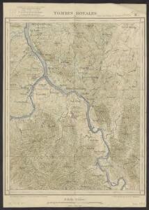 Carte des Deltas de l'Annam. Flle n33 : Tombes royales