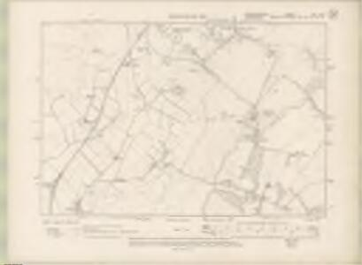 Edinburghshire Sheet XVII.NW - OS 6 Inch map