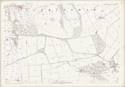 Yorkshire CCVIII.3 (includes: Everingham) - 25 Inch Map