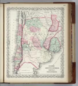 Argentine Republic, Chili, Uruguay, Paraguay.