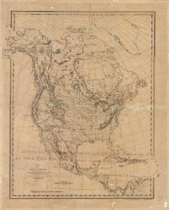 North America : Showing the Origin & Progress of the Storm of March 14-17, 1859
