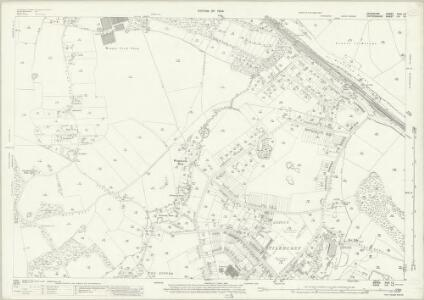 Berkshire XXIX.13 (includes: Mapledurham; Purley; Reading; Tilehurst) - 25 Inch Map