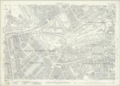 London (1915- Numbered sheets) V.13 (includes: City Of Westminster) - 25 Inch Map