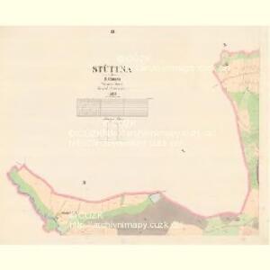 Stüttna - c7799-1-003 - Kaiserpflichtexemplar der Landkarten des stabilen Katasters
