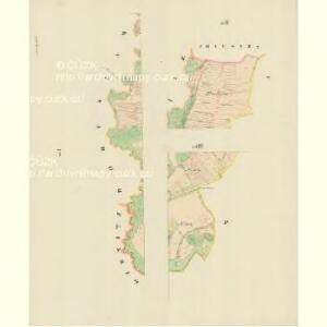 Jastrzaby - m1078-1-005 - Kaiserpflichtexemplar der Landkarten des stabilen Katasters
