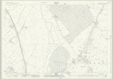 Wiltshire XXXVIII.12 (includes: North Bradley; Steeple Ashton; Trowbridge; West Ashton) - 25 Inch Map