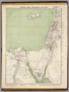 Syrien, Sinai u. Aegypten.