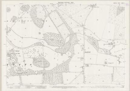Norfolk LXXXIII.11 (includes: Hilborough; Ickburgh; Stanford) - 25 Inch Map