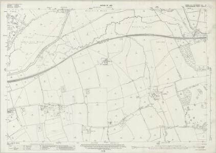Essex (New Series 1913-) n LI.3 (includes: Eastwick; Great Parndon; Hunsdon; Netteswell; Roydon) - 25 Inch Map
