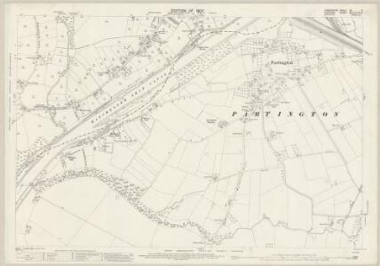 Lancashire CX.9 (includes: Carrington; Irlam; Partington; Rixton With Glazebrook; Warburton) - 25 Inch Map
