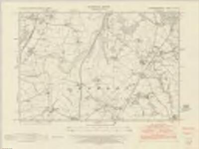 Montgomeryshire XXX.NE - OS Six-Inch Map