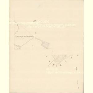 Chilitz (Chilice) - m1000-1-008 - Kaiserpflichtexemplar der Landkarten des stabilen Katasters