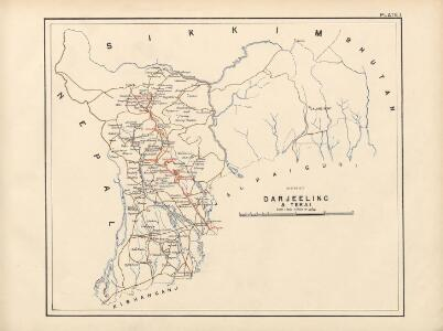 Taylor's Maps of the following Tea Districts