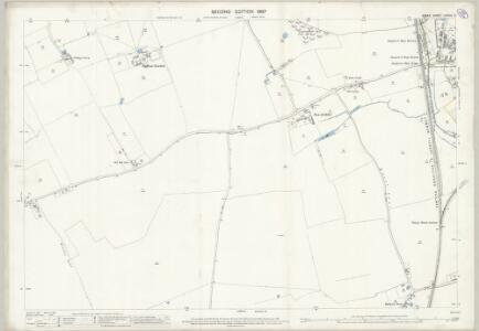 Essex (1st Ed/Rev 1862-96) LXXXIV.2 (includes: Thurrock) - 25 Inch Map