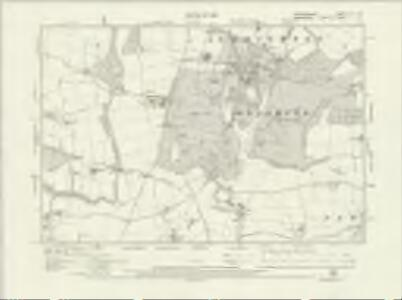 Staffordshire LXI.NW - OS Six-Inch Map