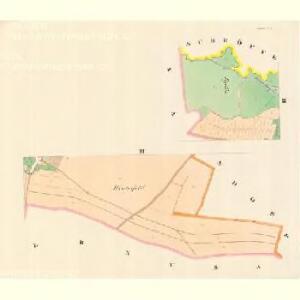 Eichen (Hornj Sokolom) - m0828-1-002 - Kaiserpflichtexemplar der Landkarten des stabilen Katasters