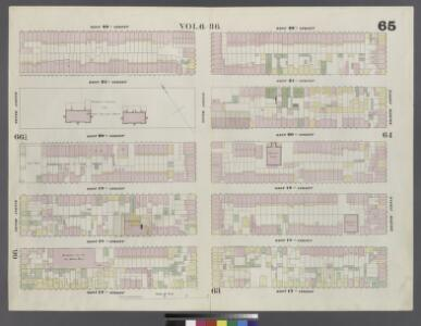 Plate 65: Map bounded by West 22nd Street, Eighth Avenue, West 17th Street, Tenth Avenue