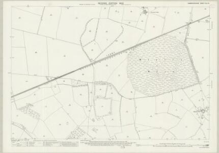 Cambridgeshire XLV.15 (includes: East Hatley; Hatley St George; Little Gransden; Longstowe) - 25 Inch Map