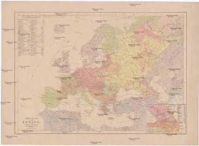 Völker-Karte von Europa