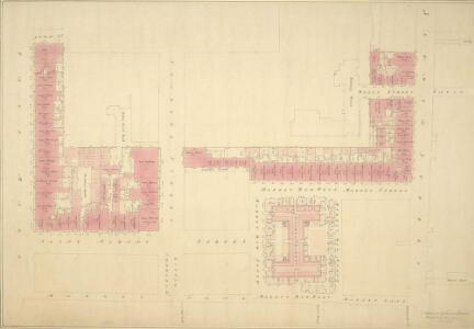 Plan of Part of the North Side of Pall Mall, St. Albans Street and St.James's Market