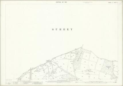 Sussex IV.1 (includes: Burstow; Charlwood; Horley; Worth) - 25 Inch Map