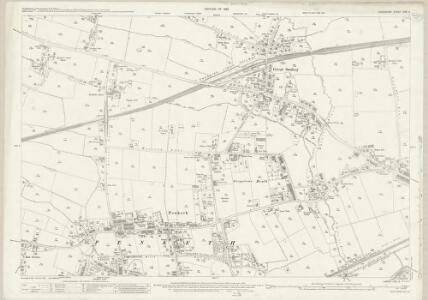 Lancashire CXV.3 (includes: Cuerdley; Great Sankey; Penketh) - 25 Inch Map