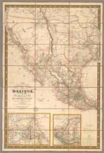 Nouvelle Carte du Mexique, Et D'Une Partie Des Provinces Unies De L'Amerique Centrale.