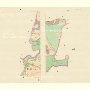 Pitschendorf (Pičkow) - m2282-1-002 - Kaiserpflichtexemplar der Landkarten des stabilen Katasters