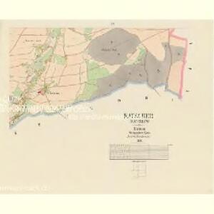 Katscher (Katčerov) - c2962-1-003 - Kaiserpflichtexemplar der Landkarten des stabilen Katasters