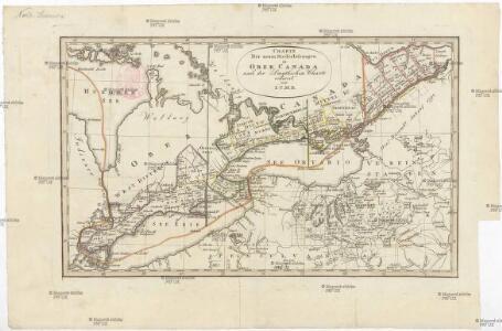 Charte der neuen Niederlassungen in Ober Canada